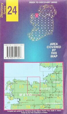 Mayo, Sligo (Irish Discovery Maps S... by Ordnance Survey Irel Sheet map, folded