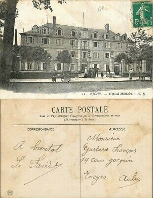 [500922] B/TB|| || - France  - (03) Allier, Vichy, Hopital Militaire, Architectu