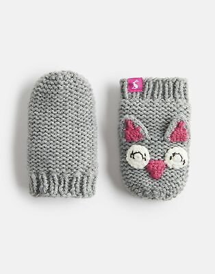 Joules Baby Chummy Character Mittens in OWL