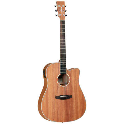 Tanglewood Union Dreadnaught Electro Acoustic Guitar + Gig Bag, Spare strings