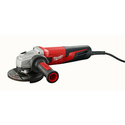 "Milwaukee 6117-33 13 Amp 5"" Small Angle Grinder Slide, Lock-On"