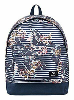 Roxy Sugar Baby Mochila Pe(16 l Blanco / Azul (Medieval Blue Bike Ride))