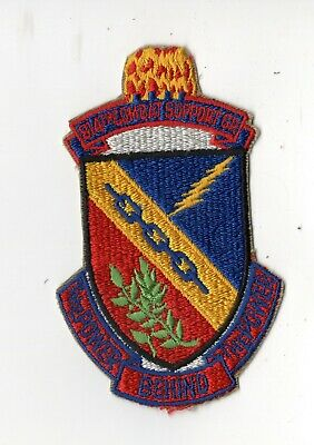 COLOR USAF 814TH COMBAT SUPPORT GROUP PATCH
