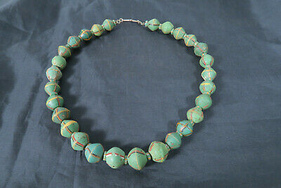Collier antike King Beads BB48 Collier Antique King Beads African Trade Afrozip