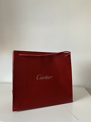 Authentic Cartier Gift Bag