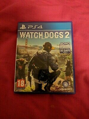 Watch Dogs 2: (PlayStation 4) PS4. Complete and good condition