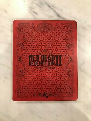 Red Dead Redemption 2 - Steelbook Case - Case ONLY - Good Condition