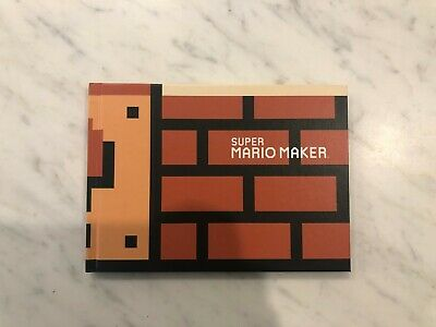 Super Mario Maker Wii U Art Book - Great Condition