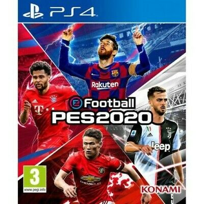 eFootball PES 2020 PS4  inc. bonus code *PLUS* PES Universe 1-Year Gold subs