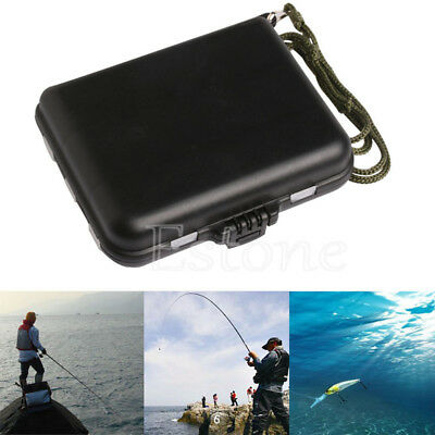 Waterproof Plastic 16 Compartments Fishing Lure Bait Tackle Storage Box Case