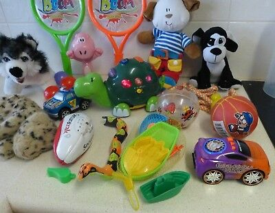 Bulk Toddler Toys - Sports - Cars-Music - Plush Puppies Etc