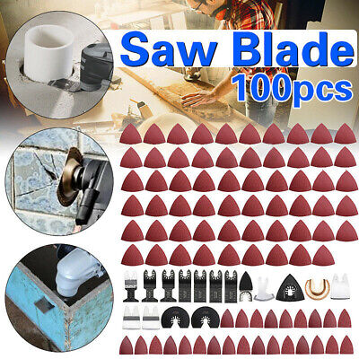 Oscillating saw blade Wood 100pcs Cutter Multitool Accessories Durable