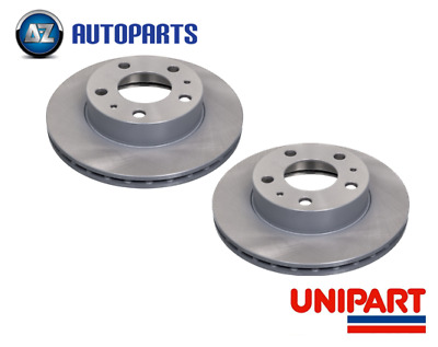 GG Mazda GY 6 2002-2007 Front Vented Brake Discs Top Quality Set Unipart