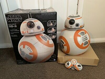 Star Wars Hero Droid BB-8 -Fully Interactive - Rare - Only Available In USA!