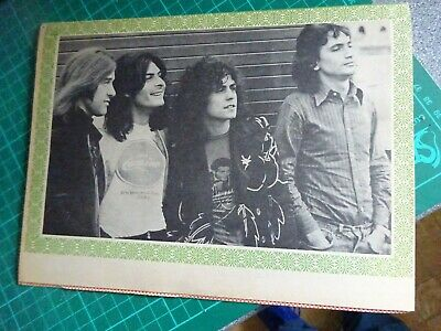 Rare 1972 T Rex Marc Bolan Special Magazine From Disco 45 - Very Good Condition