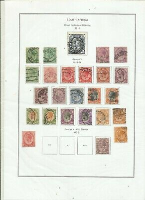 900  Different South Africa  . Stamp Collection.