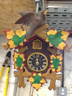 vintage german cuckoo clock Spares Or Repair