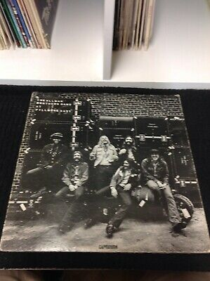 The Allman Brothers Band At Fillmore East VG Vinyl 2LP Record Album Set