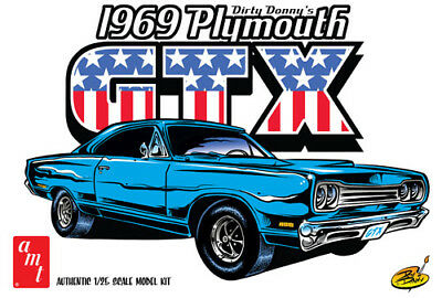 AMT 1969 Dirty Don Plymouth GTX Car Model Kit AMT1065 NEW