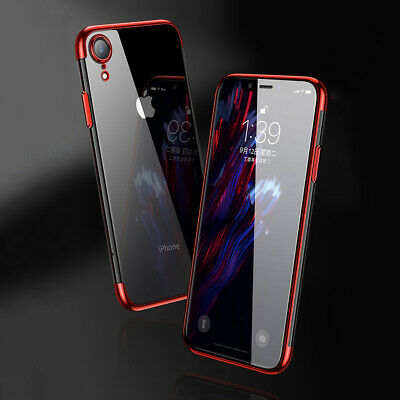 Case for iPhone 8 7 6 6s Plus XR XS MAX ShockProof Soft Phone Cover TPU Silicone