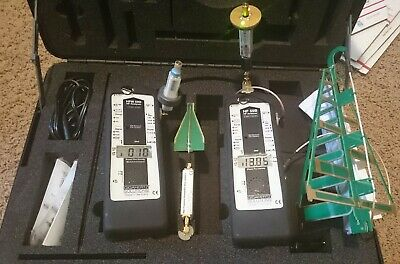 Gigahertz Solutions hf 59b and hf 59d with case and 4 antennas, chargers,filters