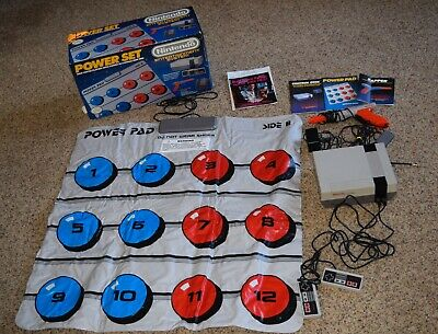 Nintendo Entertainment System Power Set NES Console Power Pad