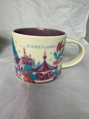 Disney Parks Disneyland Fantasyland You Are Here Starbucks Mug Version II v2