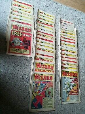 The Wizard Comic 1973  Missing January February And 1St Week Of March
