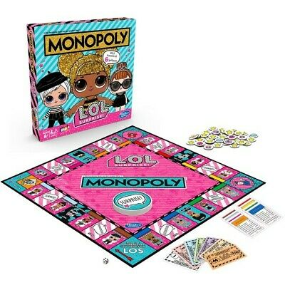 Monopoly - LOL Surprise -  BRAND NEW Board Game Toy