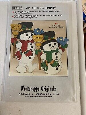 Workshoppe Originals/The Winfield Collection  #CH127/WSP6~MR. CHILLS & FROSTY