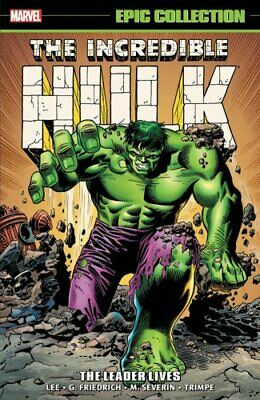 Incredible Hulk Epic Collection: The Leader Lives by Stan Lee 9781302913137