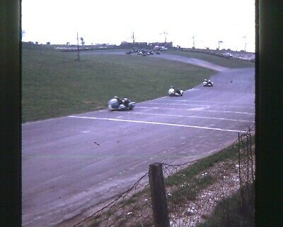 35mm SLIDES : MOTOR CYCLE RACING AT THE ISLE OF MAN TT RACES 1971