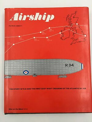 Aviation. Airship THE STORY OF R.34 AND THE FIRST EAST-WEST CROSSING