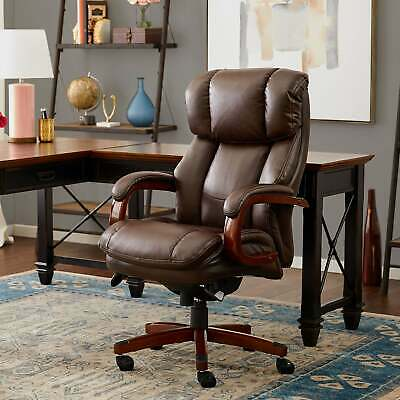 La-Z-Boy Fairmont Big & Tall Traditions Executive Office Brown