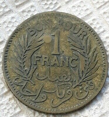 One Franc 1945 Tunisie