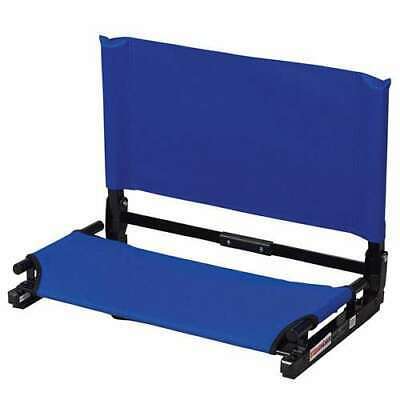 Stadium Chair Deluxe Game Changer Portable Folding Canvas Bleacher Seat (Used)