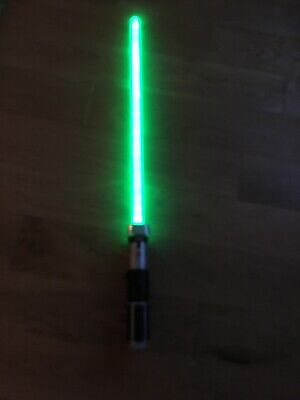 Star Wars Lightsaber + Lights And Sound Fx - Light Saber Used.