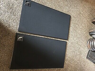Pair Of Infinity Quantum 5's Speaker Grill Covers Very Good Condition