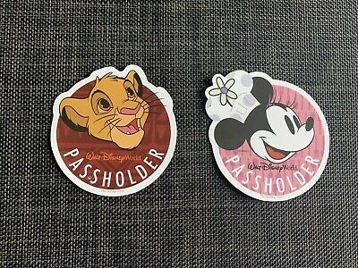 Walt Disney World Passholder Minnie/Simba Magnet 2019