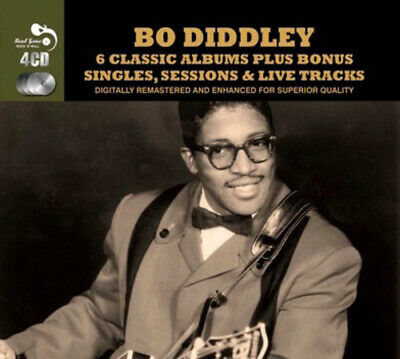 Bo Diddley : 6 Classic Albums Plus Singles, Sessions & Live Tracks CD Box Set 4