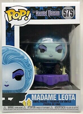 Funko Pop #575 Madame Leota Haunted Mansion MINT Guaranteed On Hand! 50th Disney