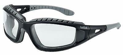 Bolle Tracker II Safety Glasses Goggles Anti Mist Scratch Case Bag Free Delivery