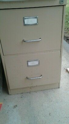 2 drawer filing cabinet with suspension files