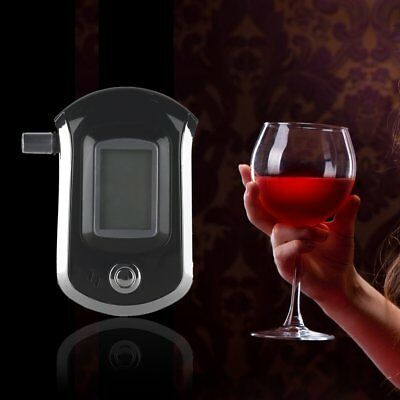 New Pro Digital Alcohol Breath Tester LCD Display Breathalyzer Analyzer Test G