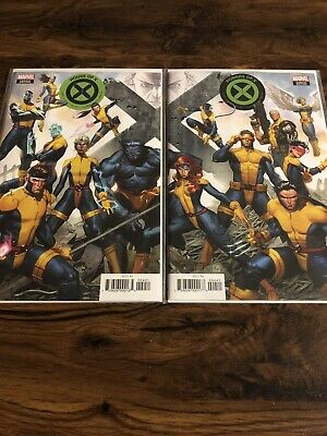 House Of X 4 and Powers Of X 4 Connecting Variants! Great Condition!