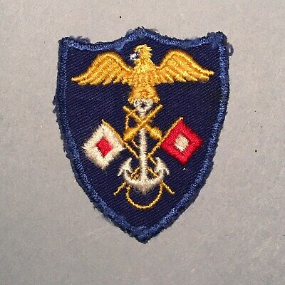 WWII US Army JASCO Joint Assault Signal Company Patch - REAL AND RARE!
