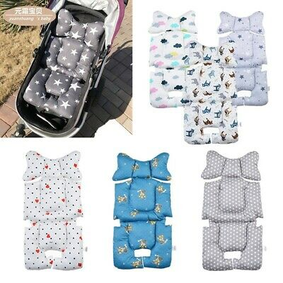 Cotton Baby Stroller Buggy Pram Pushchair Liner Cover Mat Car Seat Chair Cushion