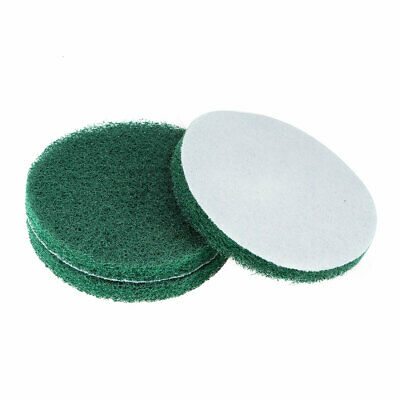 5 Inch 240 Grit Drill Power Brush Tile Scrubber Scouring Pads Cleaning Tool 3pcs