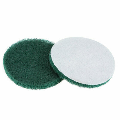 5 Inch 240 Grit Drill Power Brush Tile Scrubber Scouring Pads Cleaning Tool 2pcs