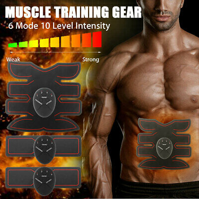 EMS Simulator Abdominal Muscle Training Body Exerciser Waist Toning Belt Trainer